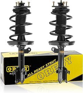 OREDY Shocks Struts Coil Spring Suspension Struts Kit 2PCS Front Pair Shocks and Struts 11505 11506 72344 72343 Complete Struts Assembly Kit Compatible with Ridgeline 06 07 08 09 10 11 12 13 14