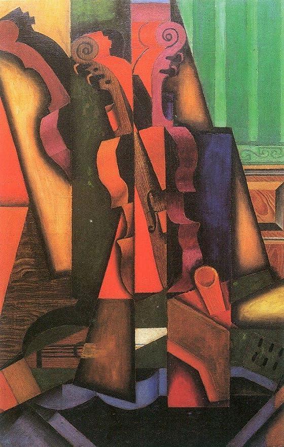 El Museo de salida - violín y guitarra por Juan Gris - Impresión ...