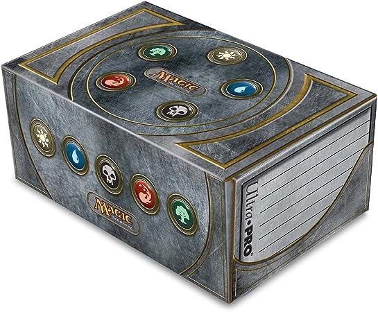Ultra Pro 82120 - Caja de almacenamiento MTG Magic Symbols Mana ...