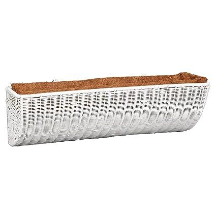 Amazon.com: DMC productos 30-inch resina mimbre cesto para ...
