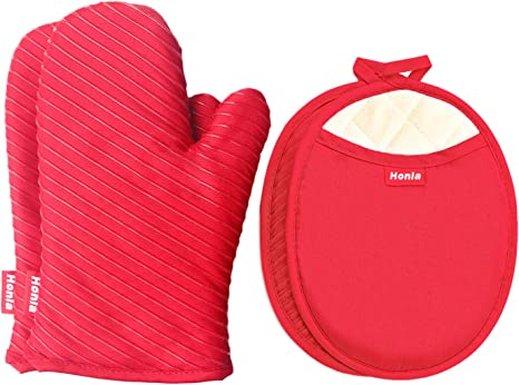 Pot HolderHot pads BBQ Barbecue Grill Designer Style Very thick Gift under 10 Skillet Mitt