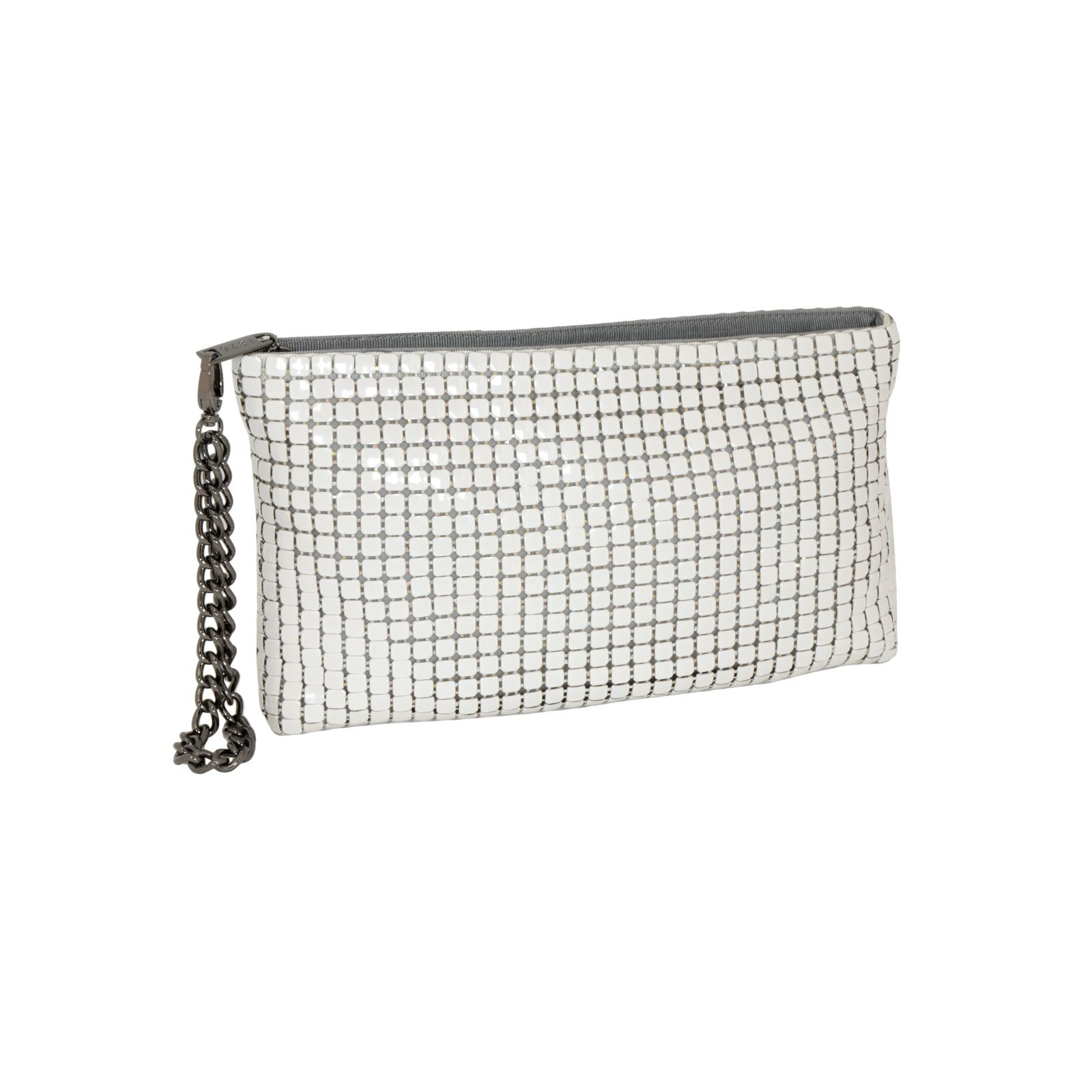 Whiting & Davis Mega Mesh Wristlet Clutch