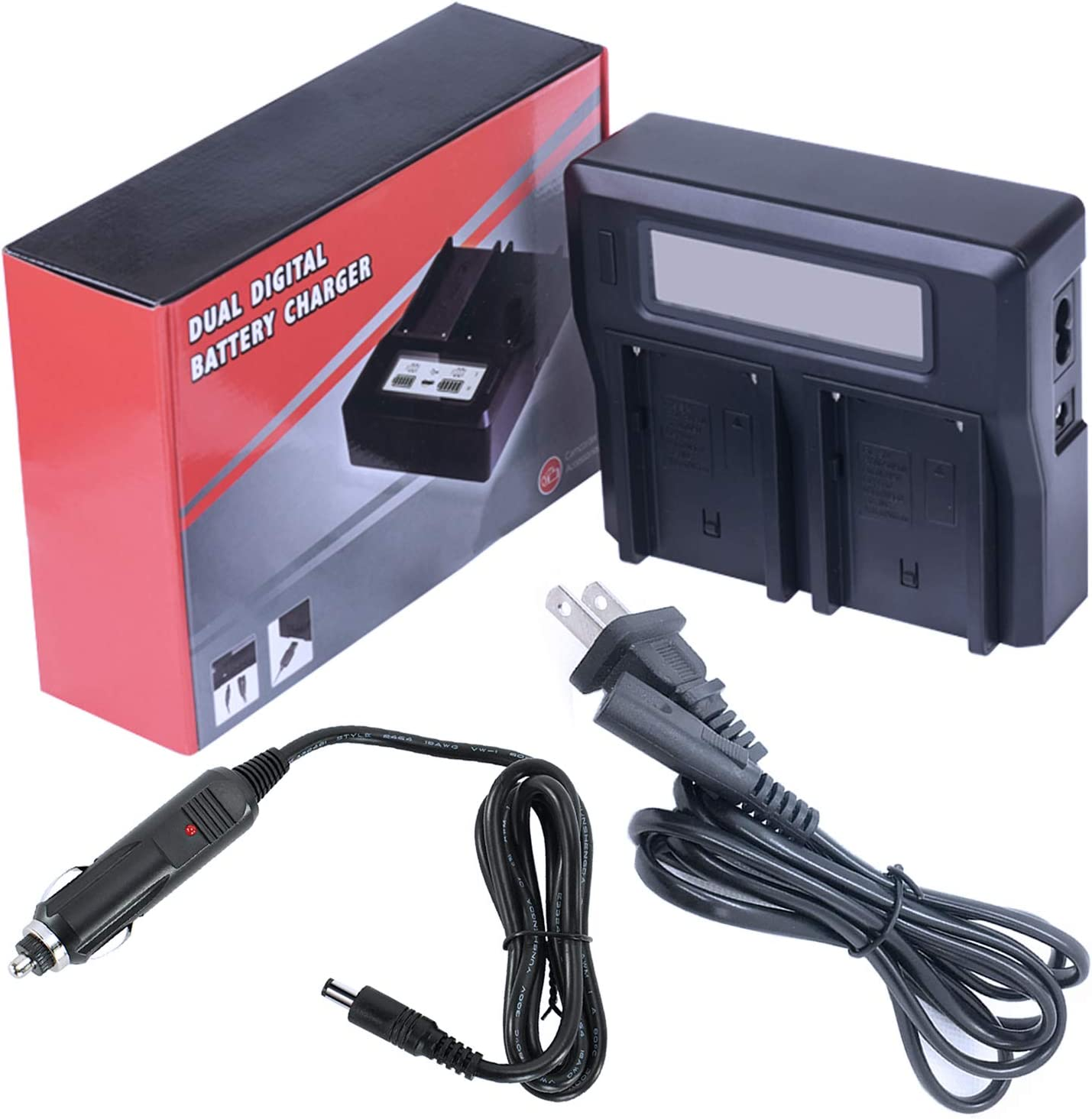 GZ-MG730BUS Camcorder Battery Charger for JVC Everio GZ-MG670BUS GZ-MG680BUS