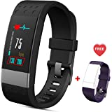 Fitness Tracker Watch Waterproof Smartwatch with Heart Rate Monitor Activity Trackers with Sleep Monitor Step Counter Smart Bracelet with Pedometer Call SMS Push 2018 New Sport Smart Watch for iPhone 7 7 Plus 6 Samsung S8 HTC Huawei Android iOS Smartphones