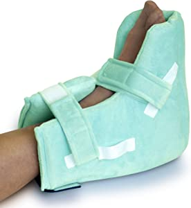 NYOrtho Boot Heel Protector Cushion - Pressure Relieving Pillow Boot with Suspension Boot Antimicrobial Fabric  Zero-G Boot™ | Free Removable Heating/Cooling Gel Pack Included | Bariatric