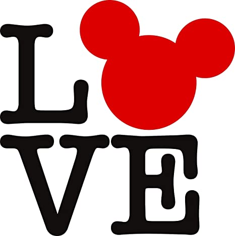 Love Heart Ears Hearts Full Quote Quotes Always Fun Mickey Mouse Minnie  Mouse Disneyland Park Fun Family Happiest Place On Earth Ears Wall Decals  ...
