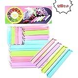 12個セット食材保存 袋密封 袋止めクリップ 酸化防止 湿気対策 防湿 鮮度保ち(ランダムカラー)