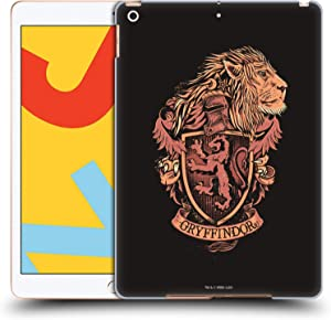 Head Case Designs Officially Licensed Harry Potter Gryffindor Deathly Hallows XIV Hard Back Case Compatible with Apple iPad 10.2 (2019)/(2020)