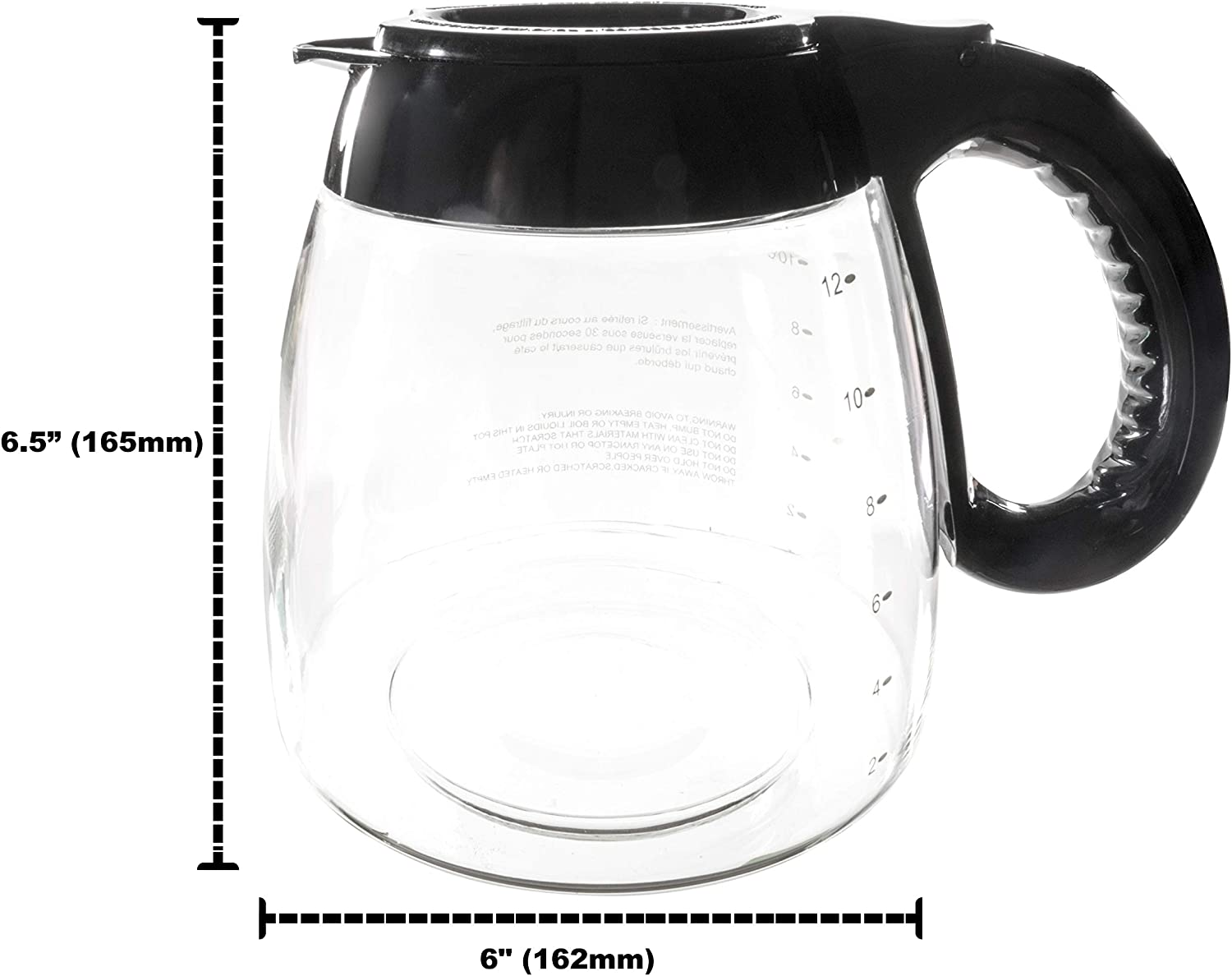 Unold Machine Coffee/' Steel Black Capacity Tazze12 Display Carafe CHRISTMAS GIFT