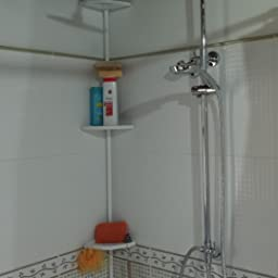 AuraLum Sistema Ducha Termostato Cuadrado Set de Ducha con Alcachofa de Ducha 20x20cm, Acero Inoxidable: Amazon.es: Bricolaje y herramientas
