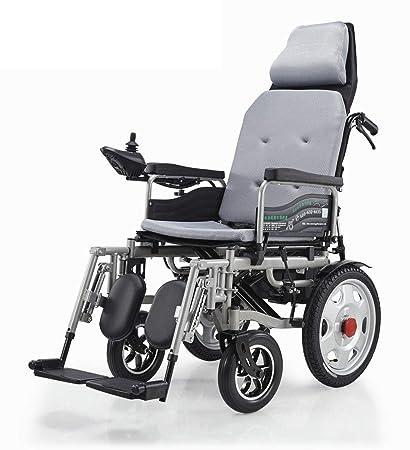 Silla de ruedas eléctrica, Plegable Ligera Scooter médico ...