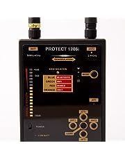 Detektor für kabellose analoge und digitale Transmissionen Protect 1206i / Detektion - FM, GSM, DECT, Bluetooth und WLAN || Wanzenfinder / Detektor / Aufspürgerät