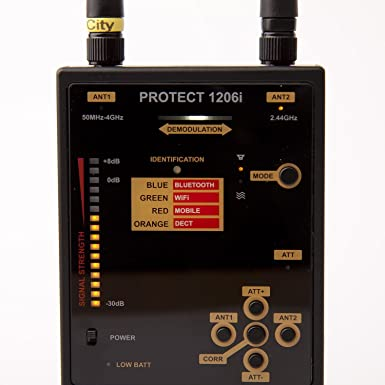 Detector de Skin para analógico y digital de sol Misiones Protect 1206 I/detección -