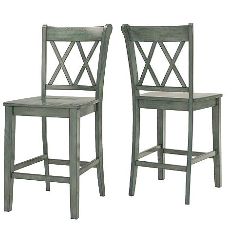 24 Inch Folding Chairs.Amazon Com Inspire Q Eleanor Double X Back Wood 24 Inch
