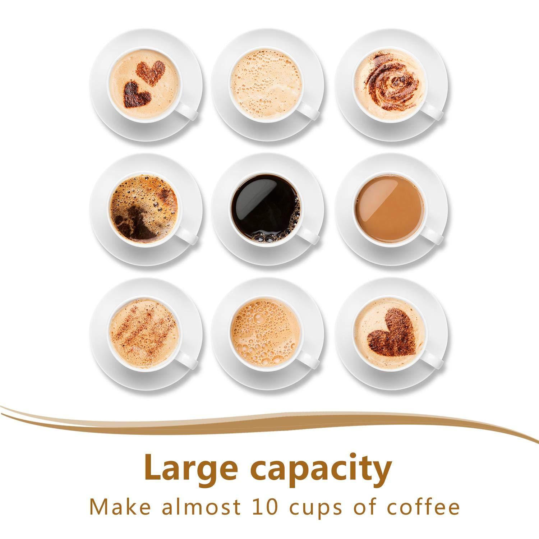 M/áquina de caf/é 1000W cafetera de filtro color negro. Enchufe brit/ánico de 3 pines Aigostar Chocolate 30KYJ