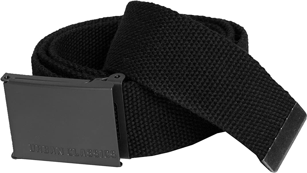 Urban Classics Unisex G/ürtel Canvas Belt stufenlos verstellbar Stoffg/ürtel TB305