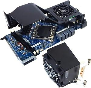 HP Z640 2nd CPU Riser Board w/Heatsink Fan 710326-001 749597-001 + 761513-001