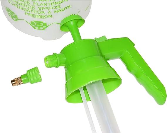 PAMEX - Botella pulverizar sulfatar Bomba de presión/vaporización pulverizador (2 litros): Amazon.es: Jardín