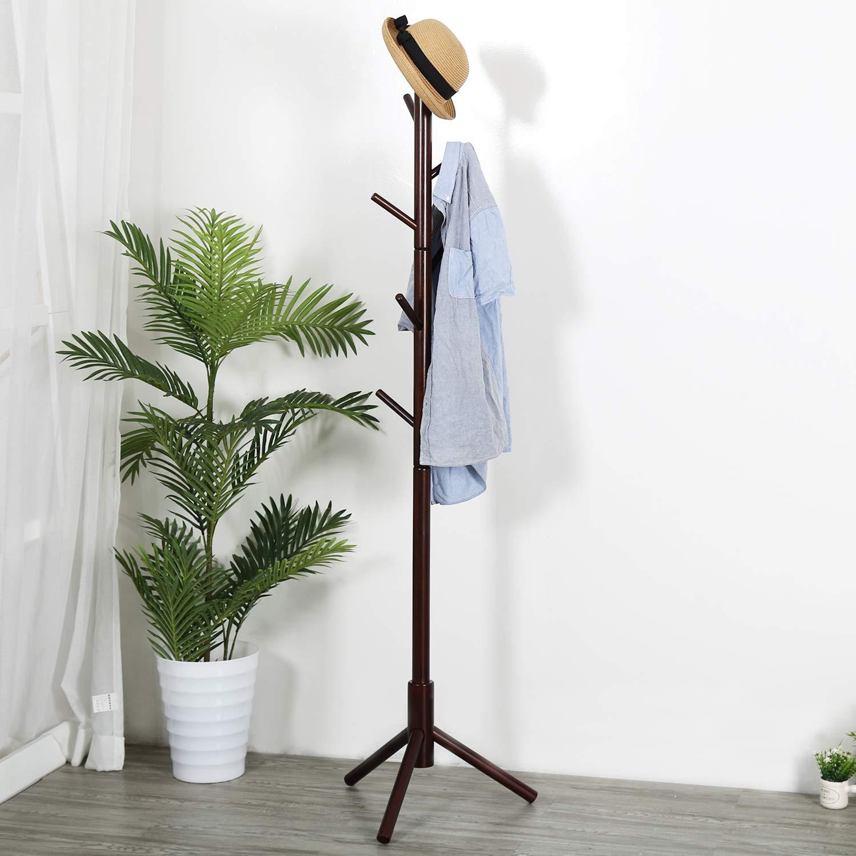 Amazon.com: Vlush Perchero de pie para abrigos, sombreros ...