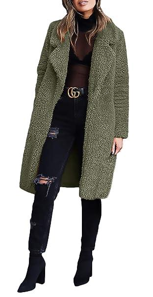 Abrigos Mujer Elegantes Vintage De Solapa Espesor Chaqueta Otoño Mode De Marca Moda Casual Manga Larga Termica Outdoor Outerwear Prendas Exteriores: ...
