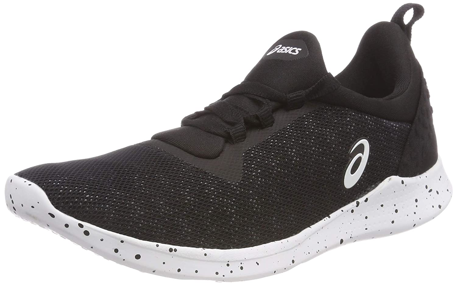 Asics 1032A004-001 GEL-Fit Sana 4 Black White Women/'s Training Shoes