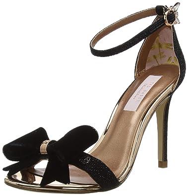 9193415e0b2 Ted Baker London Women s Bowdalo Open Toe Heels  Amazon.co.uk  Shoes ...