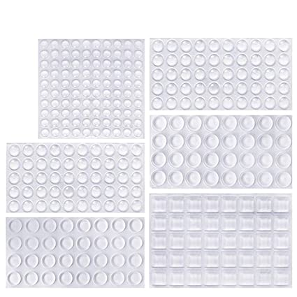 44adf890c85 ONUEMP Clear Rubber Feet Bumpers Pads
