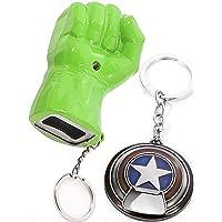 Sio & Tan Avengers Thanos Glove Keychain Nidavellir Infinity Gauntlet Thor Stormbreaker Hammer Axe Key chain Key Ring