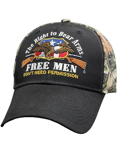 66052f9d039e Amazon.com  Capsmith Right To Bear Arms Free Men Don t Need ...
