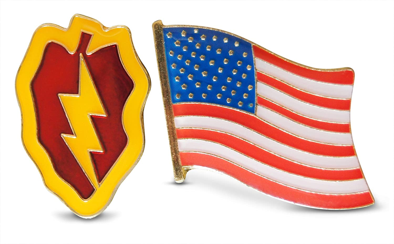 Pin Patriotic Waving American Flag United States Lapel Hat Pin Tie Tack Military