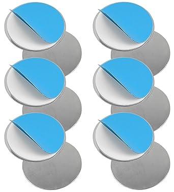 Set de imanes para detectores de humo y superficies planas (6 unidades, no utilizar