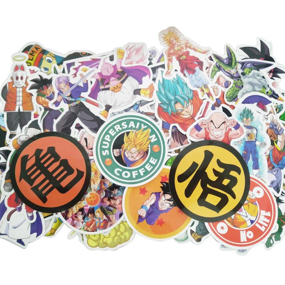 Stickers Calcos 100 un. Anime Origen U.S.A. (7FBK4WLQ)