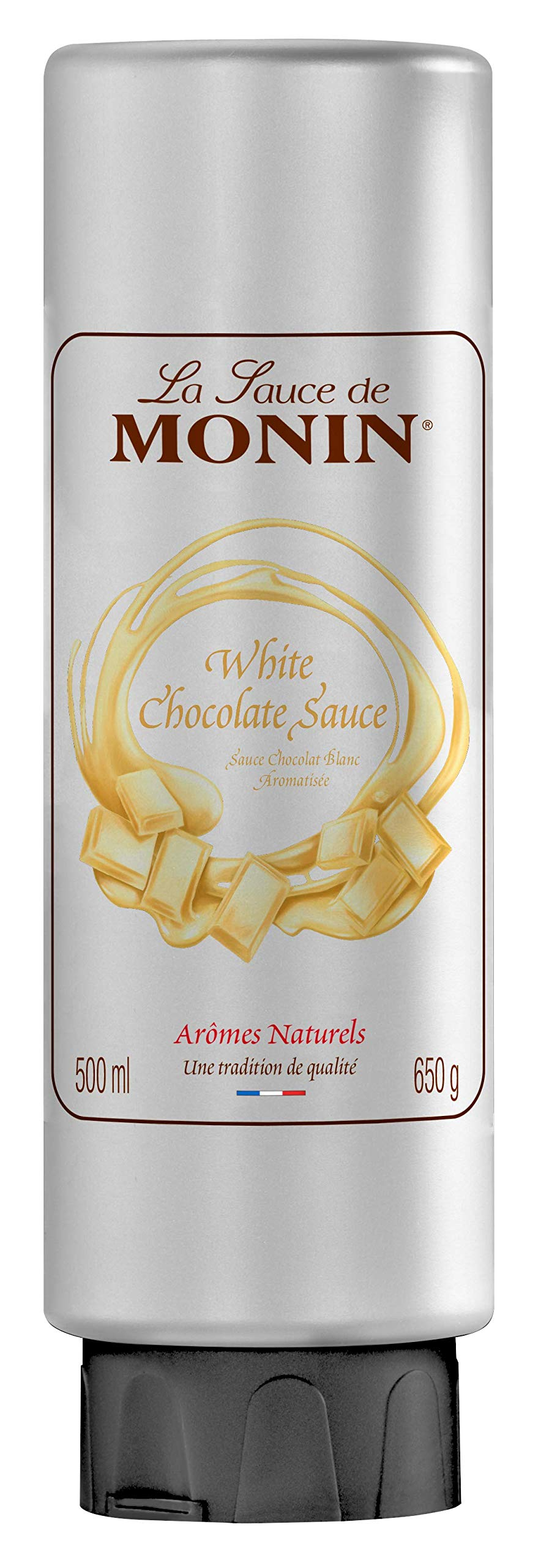 La Sauce de MONIN White Chocolate 500 ml