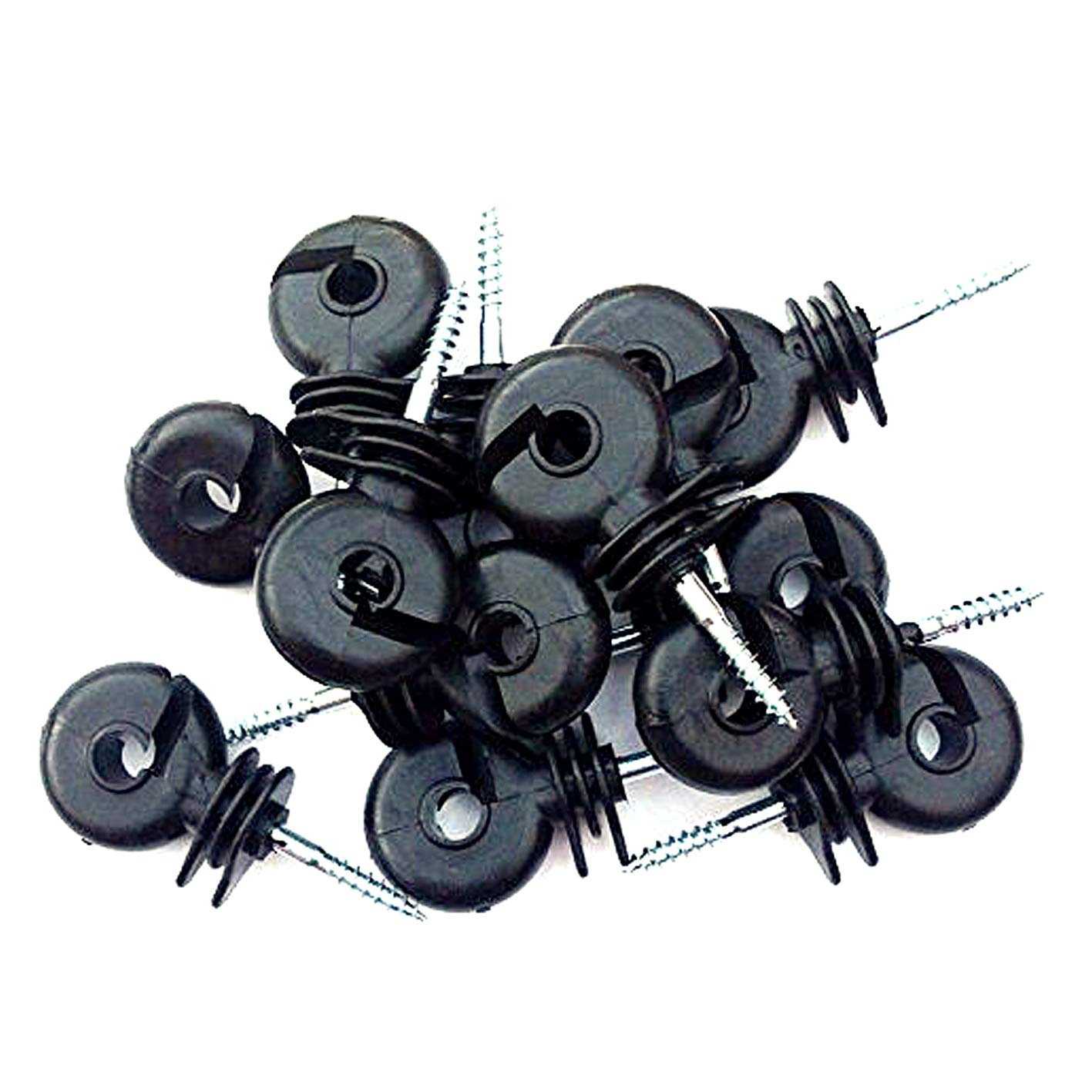 100 x Electric Fencing Ring Insulators Electrifence