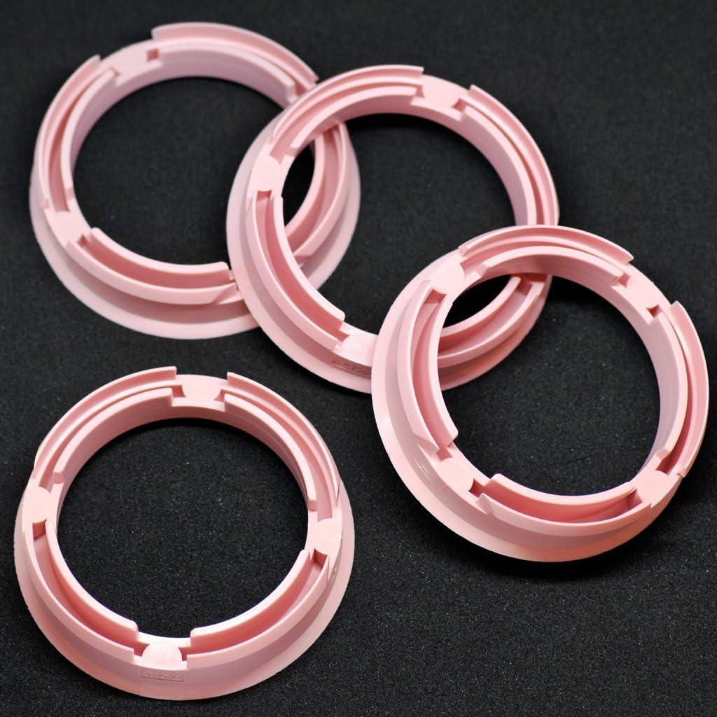 Crk 4x Zentrierringe 72 6 X 57 1 Mm Rosa Felgen Ringe Made In Germany Auto