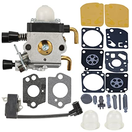 Amazon Com Buckbock Fs45 Carburetor With Ignition Coil For Stihl