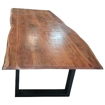 Indoortrend Com Table A Manger Tronc D Arbre Arbre Bord En