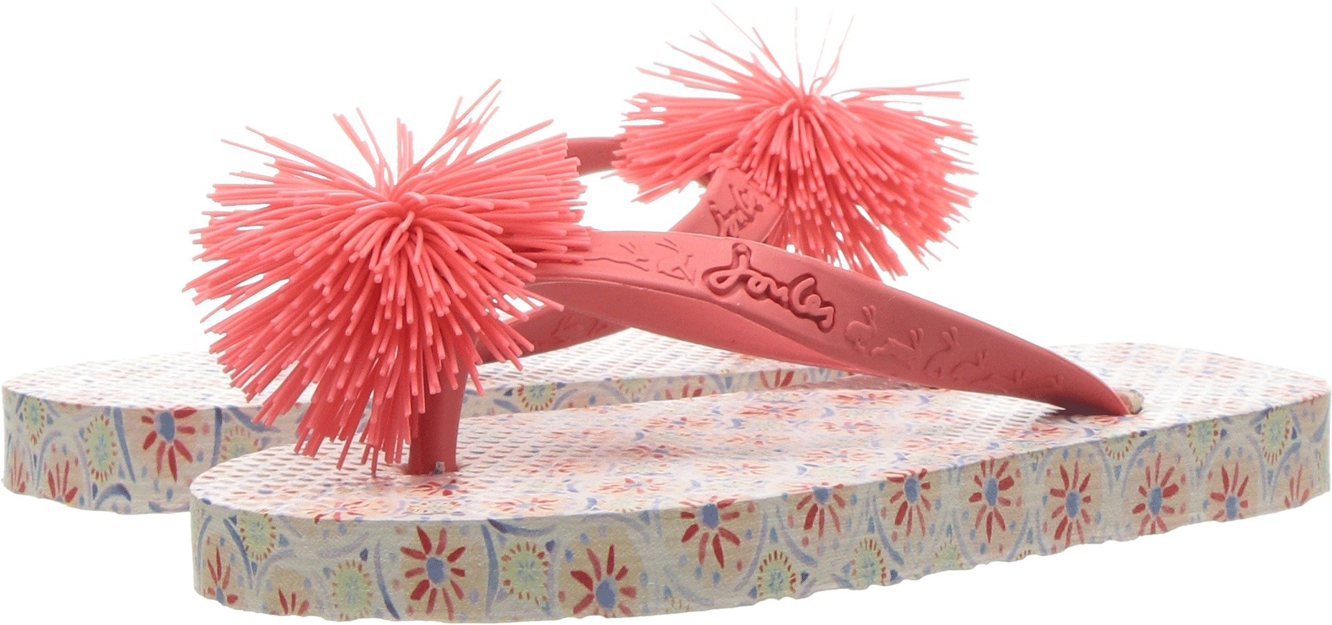 Joules Kids Baby Girl's Flip-Flop (Toddler/Little Kid/Big Kid) Cream Summer Mosaic 9 M US Toddler