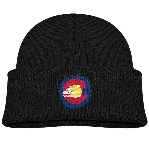newest 79612 d655c ... top quality eason g kids beanie colorado rafting kayak cuffed knit hat  skull cap 6cf66 03eca