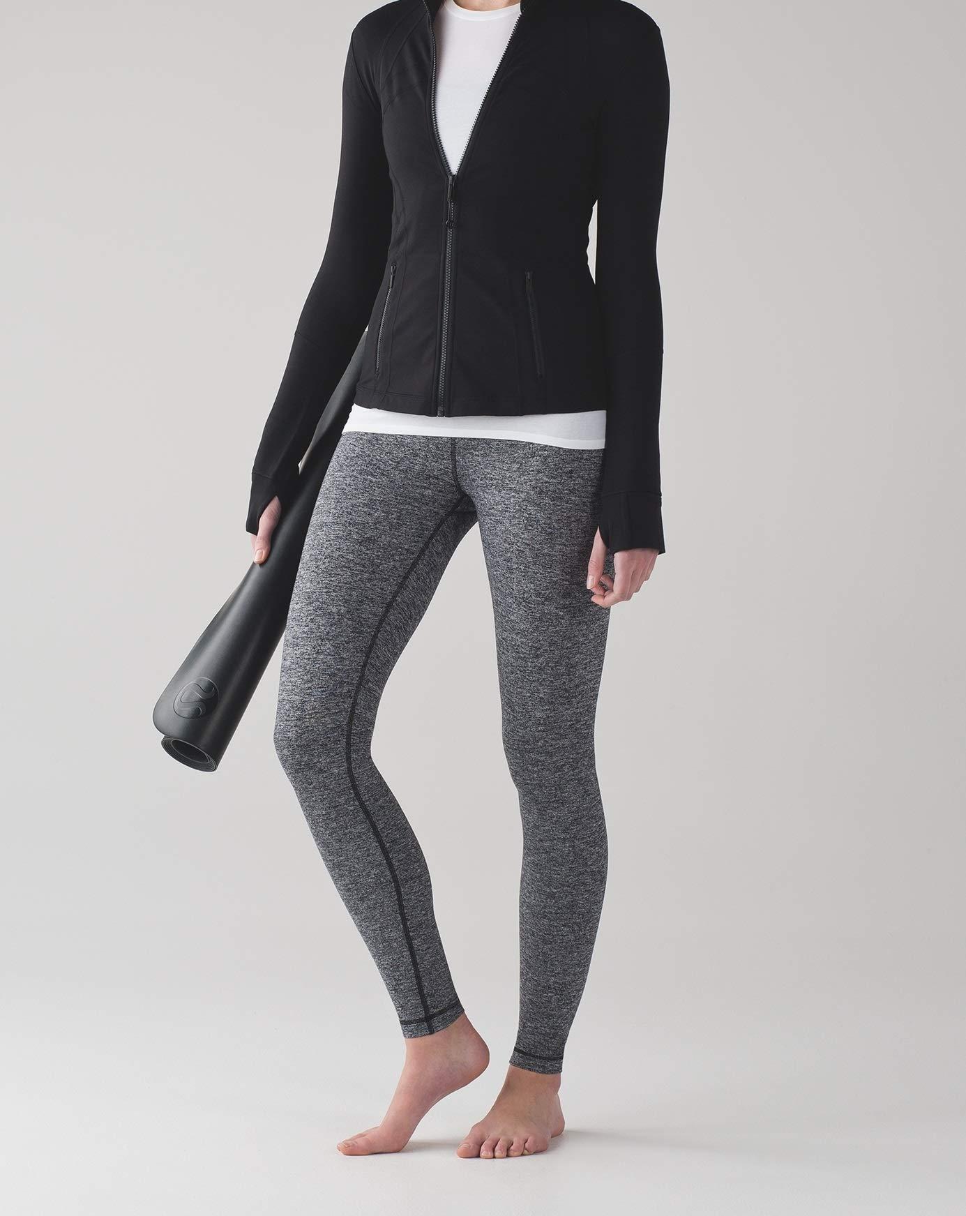 Lululemon Wunder Under Low Rise Tight Yoga Pants (Heathered Black, 12) by Lululemon (Image #4)