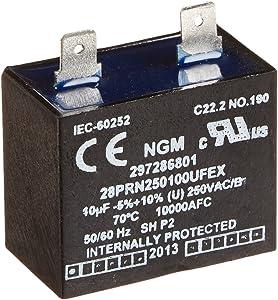 GENUINE Frigidaire 297286801 Freezer Run Capacitor