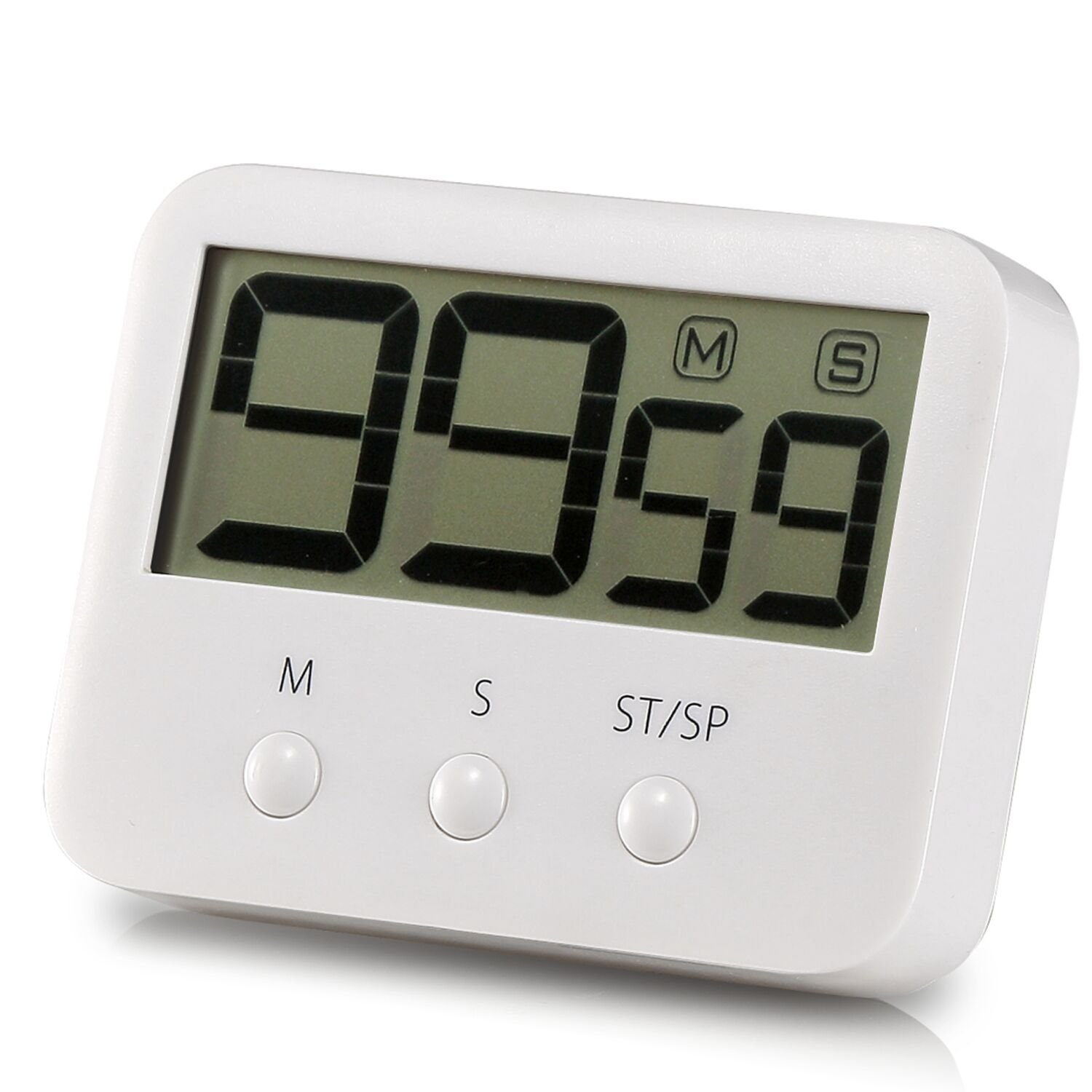 cd display digital cooking kitchen timer countdown up clock loud