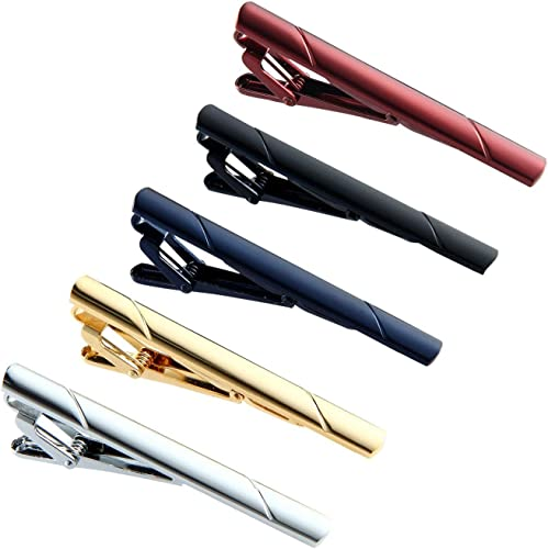 Leegoal - 5 pinzas para corbata, corbata, corbata, corbata, pinzas ...