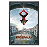 SnapeZo 27x40 Movie Poster Frame, Black, 1.25