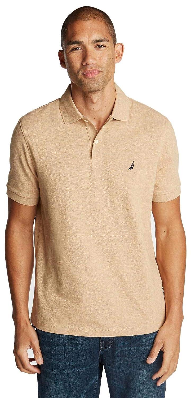 Nautica Mens Short Sleeve Solid Polo Shirt, Espresso, XXXL ...