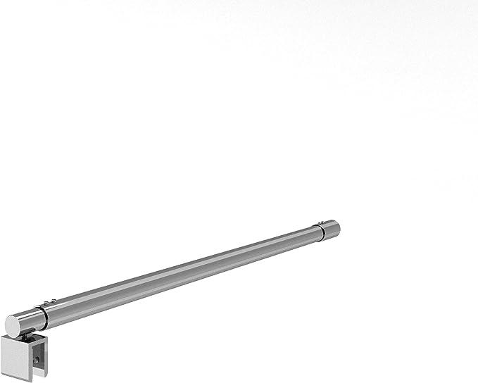 Barras de apoyo/soporte telescópica ajustable 55-100 cm, de la pared al vidrio para mamparas de ducha, para cristal de 8/6 mm de grosor.: Amazon.es: Bricolaje y herramientas