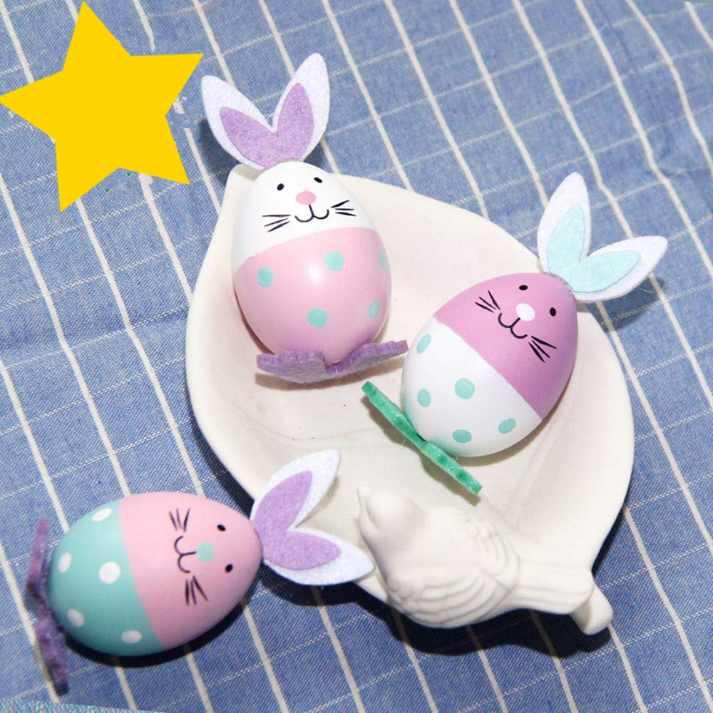 Pascua Décoration Huevo, DOTBUY Juguetes Favores de Partido Caza Sorpresa de Huevo de Pascua Juguete Mini Juguetes y Recuerdos Conejito: Amazon.es: Hogar