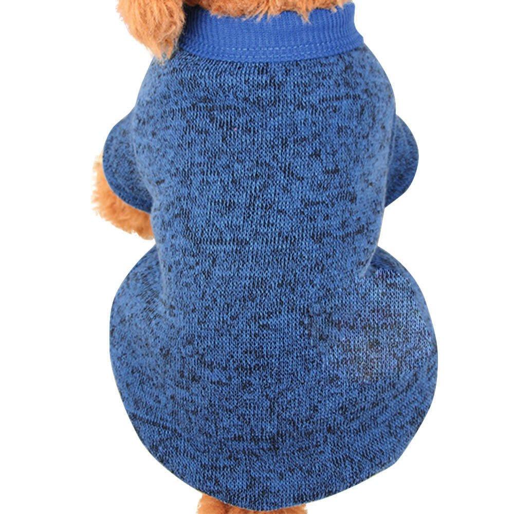 para el suéter de para mascotas, Sannysis caliente de la moda del perrito caliente del animal doméstico del perro ropa de perros suéter de lona suave nueva camiseta casual para perros gatos