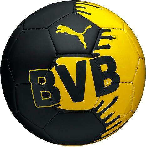 BVB Borussia Dortmund balón de fútbol Puma colour negro y amarillo ...