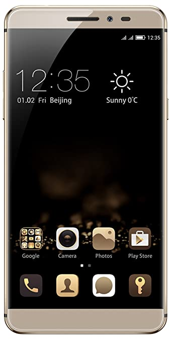 Coolpad Max A-8 (Gold) Smartphones at amazon
